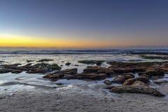 Costas de La Jolla - San Diego, Califórnia imagem de stock