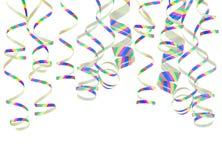 Costas de ondulação coloridos do papel do córrego Imagens de Stock Royalty Free