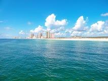 Costas do golfo, Alabama fotografia de stock royalty free