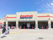 Costco продает внешнюю витрину магазина оптом в Lewisville, Техасе, США Стоковые Изображения
