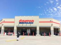Costco продает внешнюю витрину магазина оптом в Lewisville, Техасе, США Стоковое Изображение