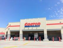 Costco продает внешнюю витрину магазина оптом в Lewisville, Техасе, США Стоковое Изображение RF