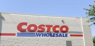 Costco Hurtowy magazyn zdjęcia stock