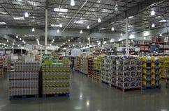 Costco sklep zdjęcie royalty free