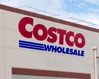 Costco sklepu Hurtowa powierzchowność Obraz Stock