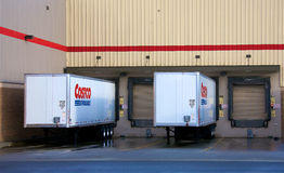 Costco trucks Stock Images