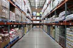 Costco Warehouse Club Royalty Free Stock Photo