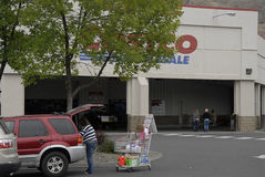 COSTCO WHOLESALE Royalty Free Stock Images