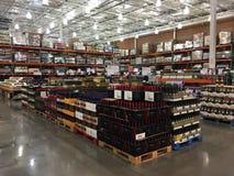 Costco Wholesale Shopping Club. stock photos