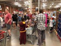 Costco Wholesale Shopping.