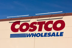 Costco Wholesale store exterior Royalty Free Stock Image
