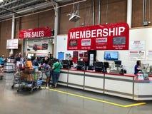 Costco Wholesale Shopping Club.