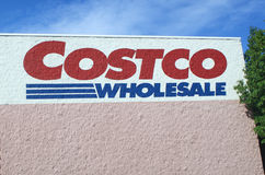 COSTCO-Zeichen Stockfoto
