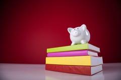 Coste de educación Imagen de archivo libre de regalías