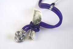 Coste de la atención sanitaria Imagen de archivo libre de regalías