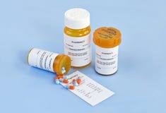 Coste de la prescripción Foto de archivo libre de regalías