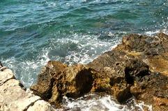 Coste del mar fotografía de archivo libre de regalías