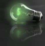Coste energético Imágenes de archivo libres de regalías