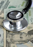 Coste médico de levantamiento en los E.E.U.U. Foto de archivo libre de regalías