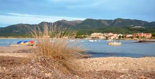 Costee en la isla de Corfú, Grecia, Europa foto de archivo