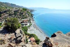 Costee en la isla de Creta, Grecia, Europa imagen de archivo