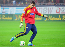 Costel Pantilimon before FIFA World Cup Playoff Game Stock Photos