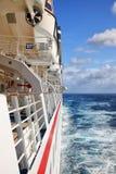 Costela Luminosa do navio de cruzeiros Imagem de Stock Royalty Free