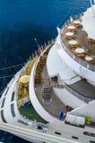 Costela Luminosa do navio de cruzeiros Imagem de Stock