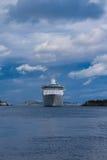 Costela Luminosa do navio de cruzeiros Imagens de Stock