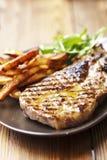 Costeleta de carne de porco Imagem de Stock