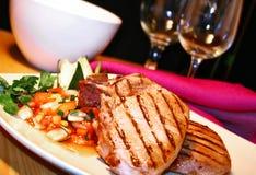 Costeleta de carne de porco Fotos de Stock