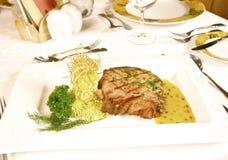 Costeleta de carne de porco fotografia de stock royalty free