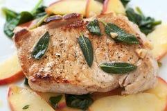 Costeleta de carne de porco do outono Fotografia de Stock