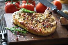 Costeleta de carne de porco grelhada Imagens de Stock