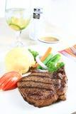 Costeleta de carne de porco grelhada Imagem de Stock Royalty Free