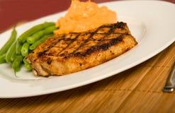 Costeleta de carne de porco grelhada Fotografia de Stock Royalty Free