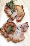 Costeletas de carne de porco Imagem de Stock Royalty Free