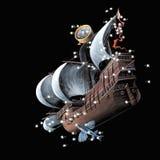 Costellazioni la chiglia della nave Argo (Carena), illustrazione di stock