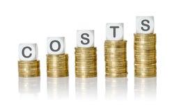 costes imagen de archivo libre de regalías