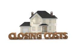 Costes cerrados de Real Estate Foto de archivo