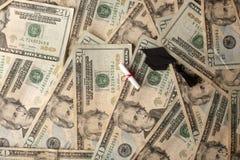 Costes de educación Fotografía de archivo libre de regalías