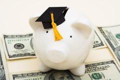 Costes de educación crecientes Imagen de archivo