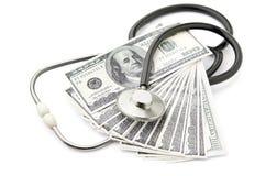 Costes de la atención sanitaria Imágenes de archivo libres de regalías