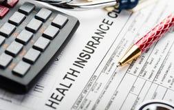 Costes de la atención sanitaria imagenes de archivo