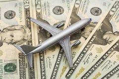 Costes de la línea aérea Fotos de archivo libres de regalías