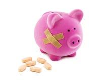 Costes de la salud imagen de archivo libre de regalías