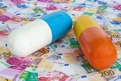 Costes de la salud Imágenes de archivo libres de regalías
