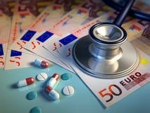 Costes de la salud Fotografía de archivo libre de regalías