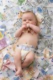 Costes del bebé Fotos de archivo