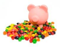 Costes del caramelo fotos de archivo